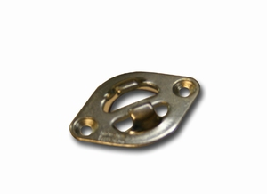anchor plate for end fitting strap, aircraft type rails  (per stuk)