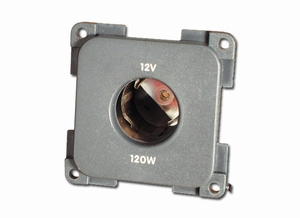 12V Lighter type socket grey  (per stuk)