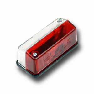 marker light, red/white  (per stuk/p.p.)
