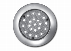 Interior Dome Light with 21 LEDs with and 9 LEDs Blue  (per stuk)