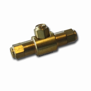 coupling, air, T-piece, 4mm  (per stuk/p.p.)