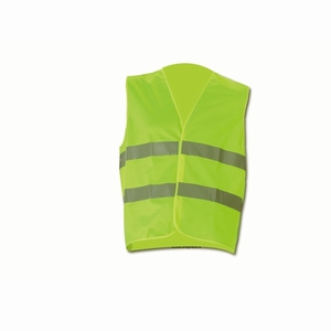 safety vest, yellow, EN 471  (per stuk/p.p.)
