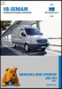 leaflet, VB-SemiAir Mercedes-Benz Sprinter 209-324 (06 - ..) (per stuk)