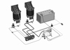 SemiAir, rear, Fiat Ducato (1994-2006), dashkit + compressor (set)