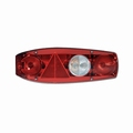 rear light, Caraluna II, left, caravan, triangle   (per stuk/p.p.)