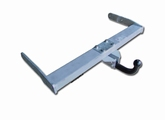 towbar, 1.280mm, fixed ball  (set)